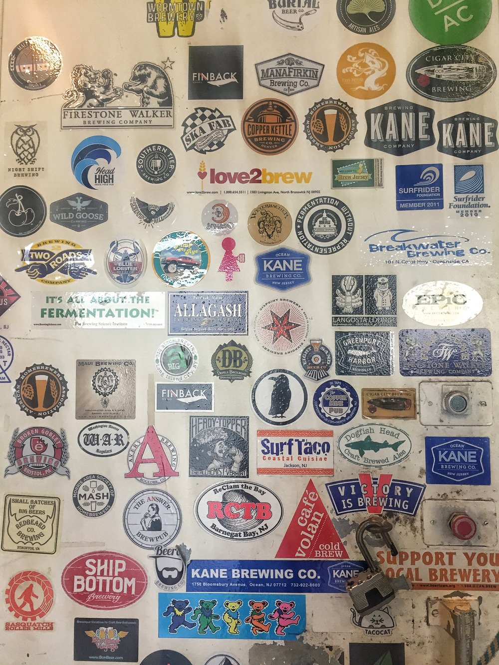 Stickers galore because even in my 30's, I still have this need to want tocollect them.