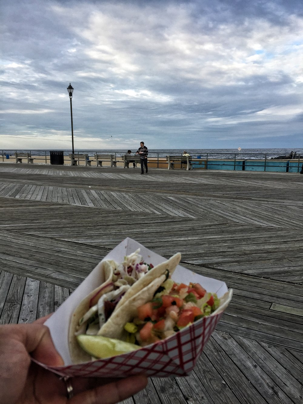 Beer makes your hungry. Take a taco break in Asbury Park.