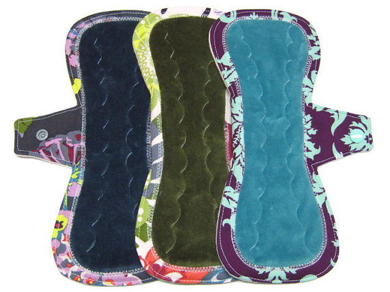 Found on Etsy: Reusable Organic Cotton Pads