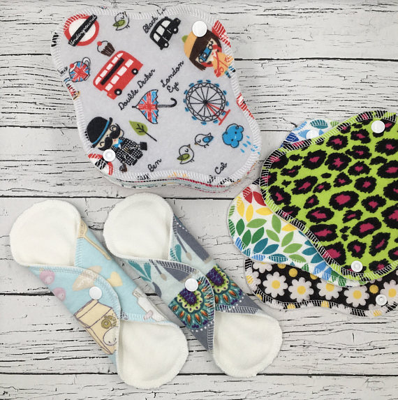 Found on Etsy: Reusable Pads