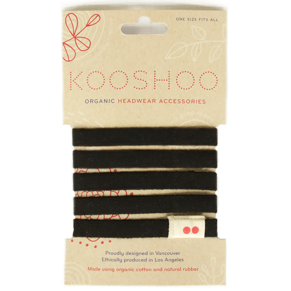 Found on Etsy: Kooshoo Organic Hair Ties Made in USA