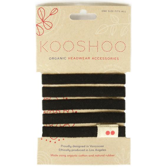 Found on Etsy: Kooshoo Organic Hair Ties Made in USA