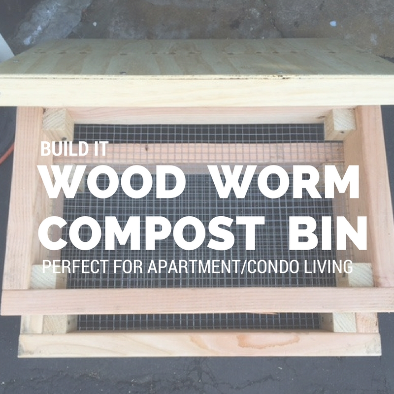 Build a worm compost bin this weekend.