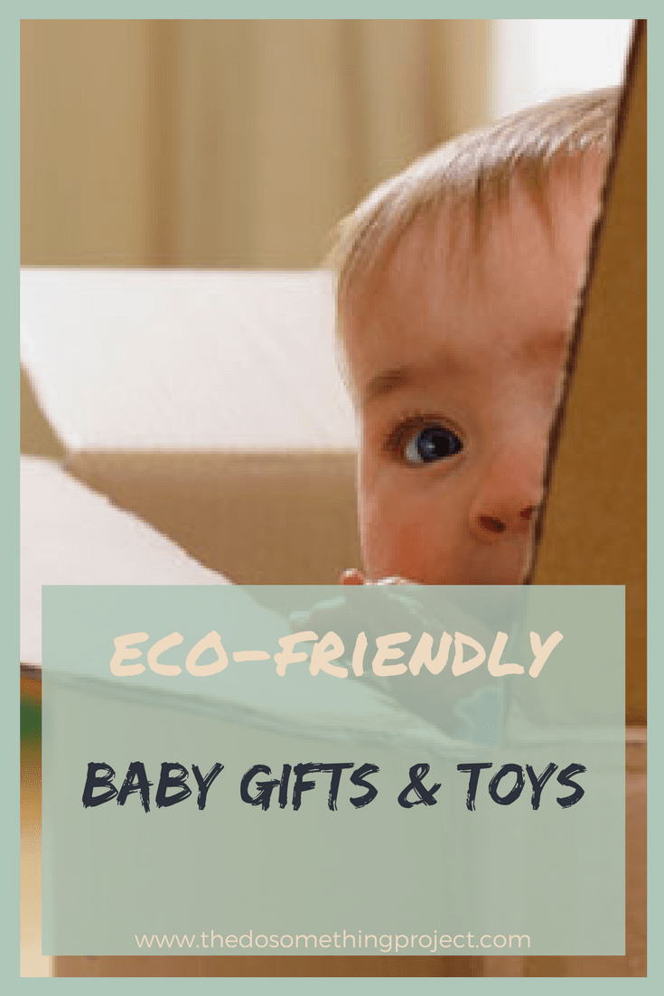 Eco-friendly baby gifts and toys.
