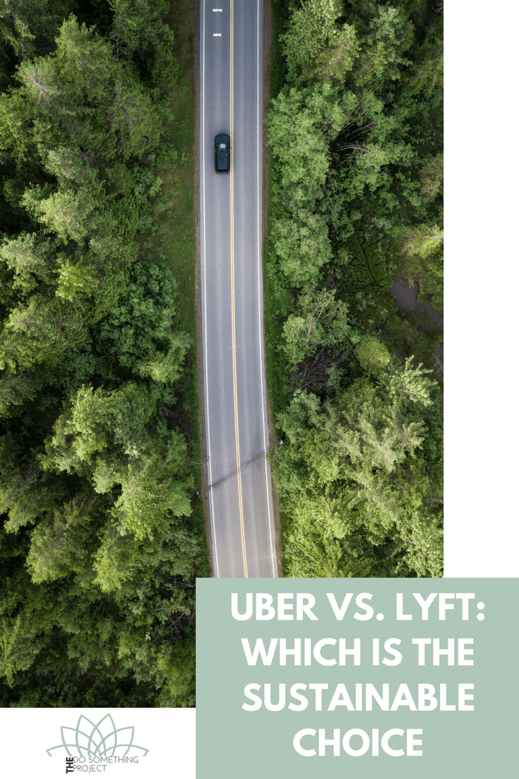 Which is the most sustainable ride sharing company? Uber or Lyft