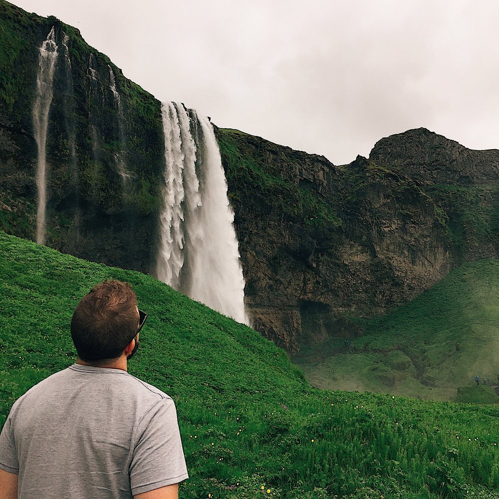 Chasing and admiring waterfalls. This time from afar.