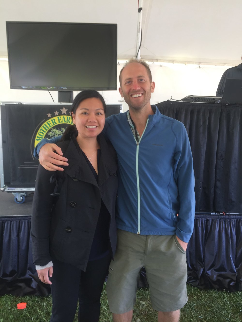 Met environmental warrior and activist Rob Greenfield.