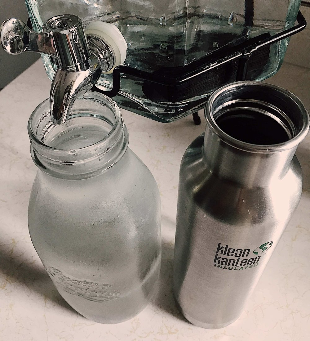 Use tap water and reduce expenses associated with bottled water