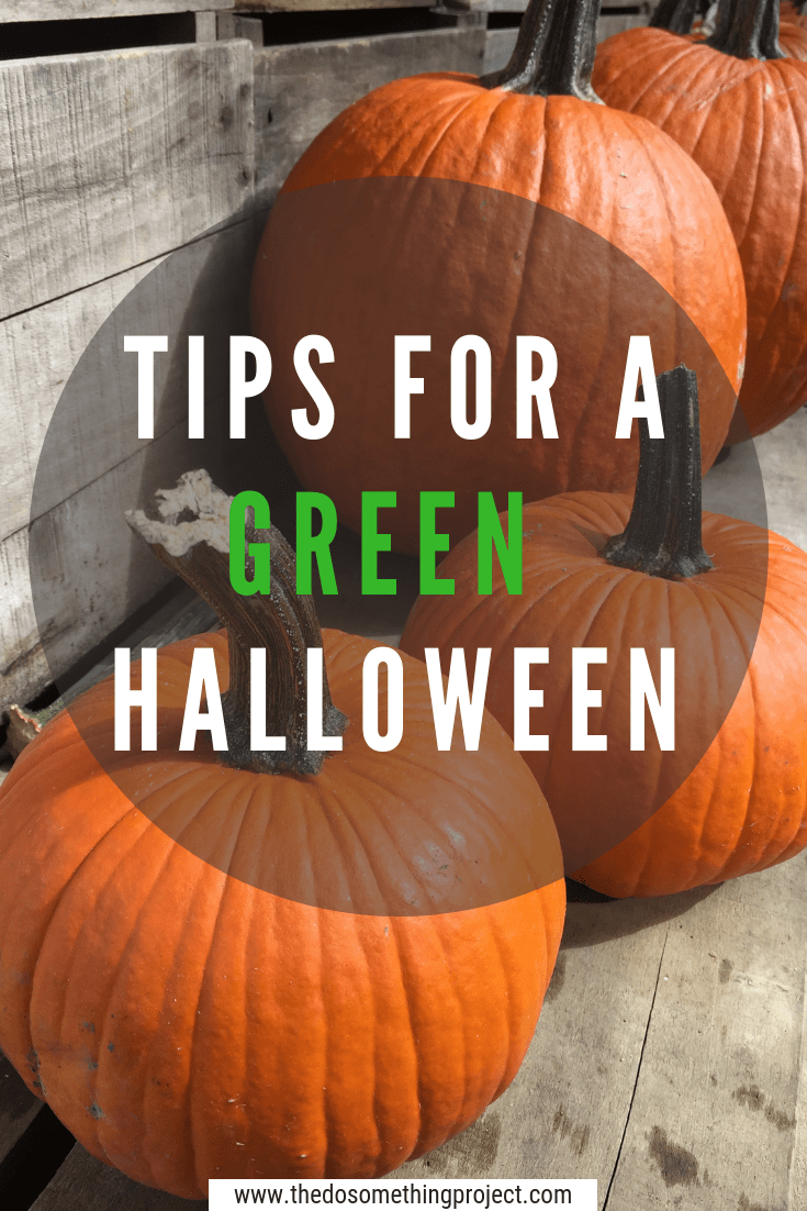 Tips to reduce waste his Halloween and still have a ghoulish time.