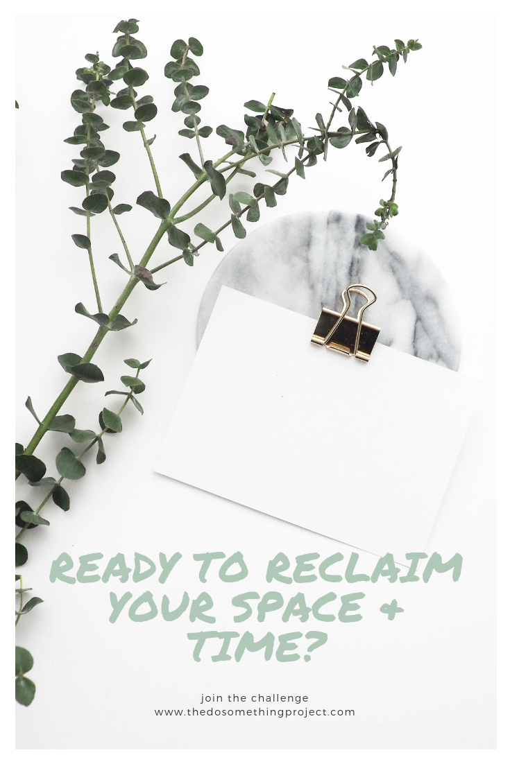 Ready to reclaim your space & time? Join the Minimalism Challenge.