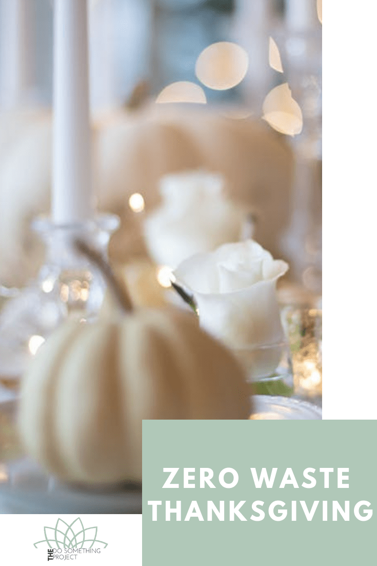 How to reduce waste this Thanksgiving and all holidays.