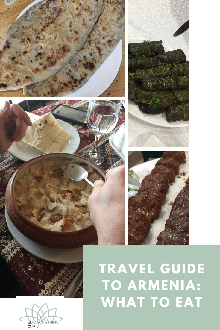 Travel Guide to Armenia - What to Eat