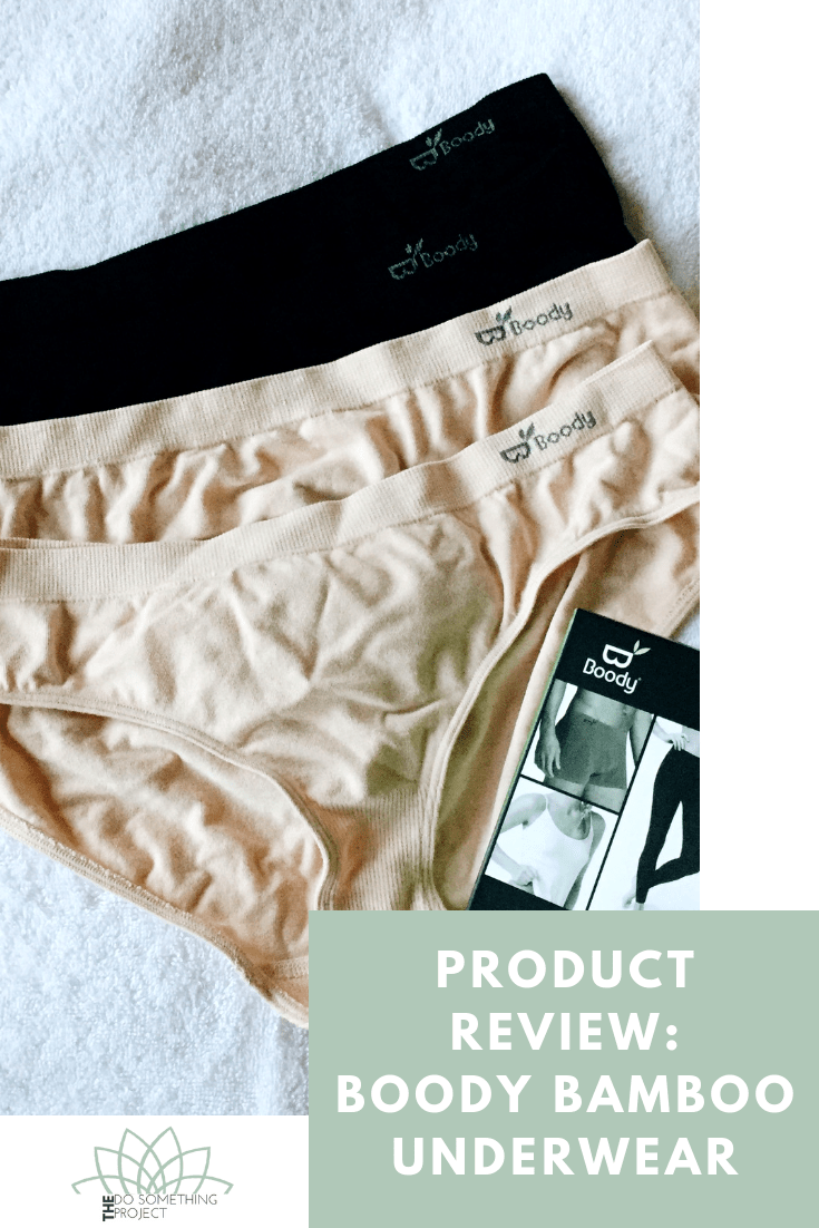 Product Review: Boody Bamboo Underwear