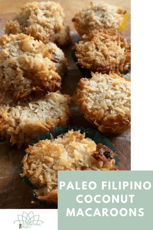 Paleo Filipino Coconut Macaroons The Do Something Project