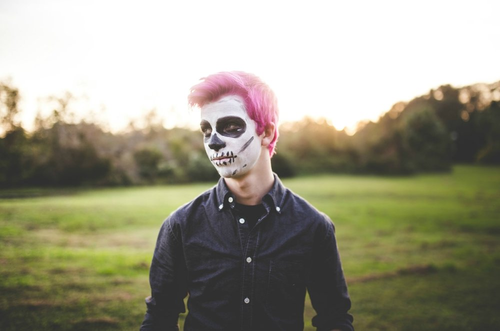 My brother's pink hair and Mexican holidays.