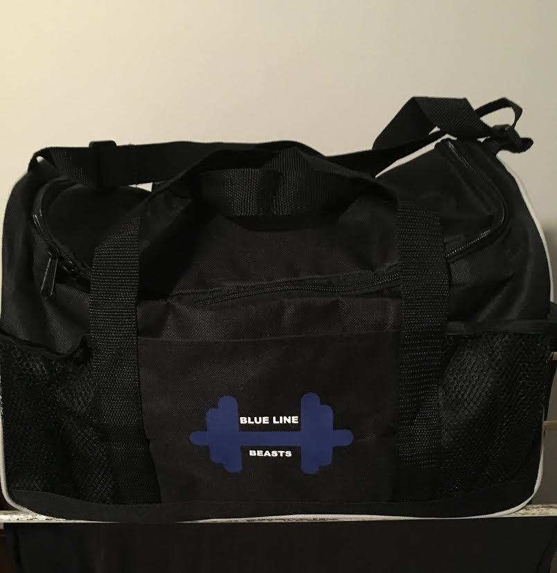 Blueline Beasts Gym Bag — Blue Line Beasts