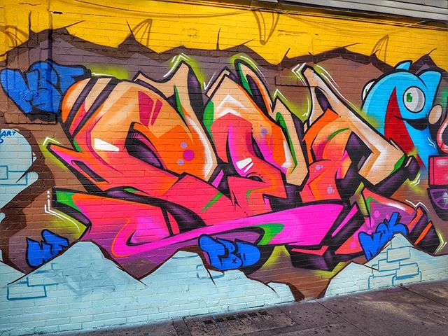 Sabado Gigante in bk yesterday with @epicuno 🌇 . . . #seeone #mst #tbd #mok #wf #graffiti #newyork #brooklyn #miru