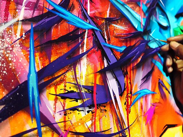 Tbt: 02 ⚡ #seeone #shards #graffiti #streetart  #art #paint #newyork #fineart #graffuturism #abstract #futurism #abstractexpressionism #tbt #artistsoninstagram #artist #illustratorsofinstagram #paintersofinstagram #paint #artofinstagram #abstractpainting #faces #women #color #gallery #artgallery