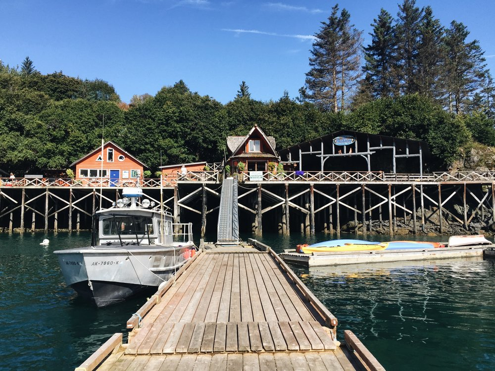 Welcome to Halibut Cove--one of the dreamiest spots on earth (to me).