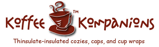 Koffee Kompanions French press tea cup cozy koozie covers