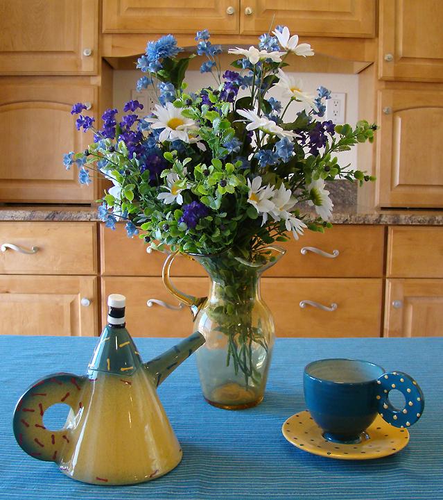 Decorations Alice in Wonderland tea pot set_72