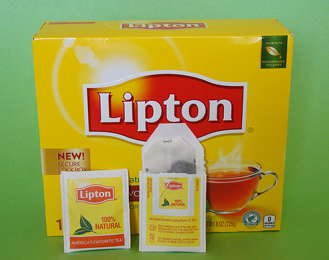 Lipton tea old packaging_72