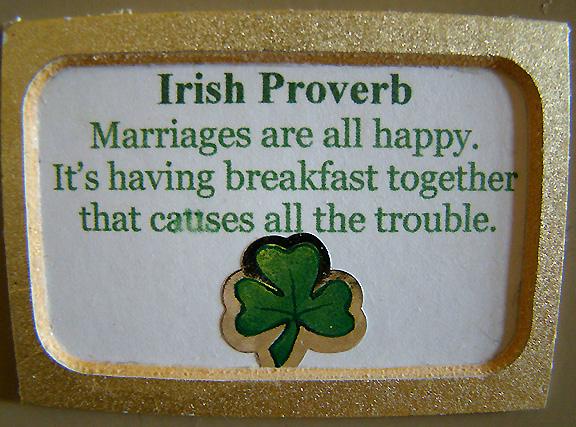 Irene magnet Irish proverb_72