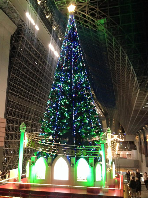 Coll Japan 2015 Nov 23 Lite Xmas tree Kyoto_72