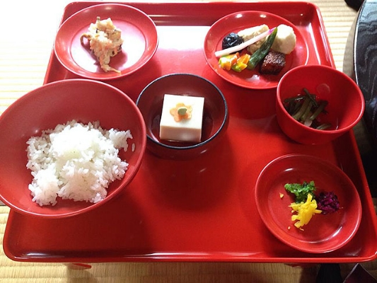 Coll Japan red dishes