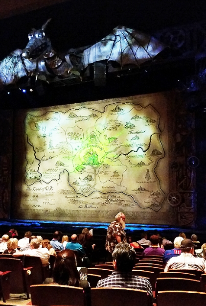 Theater 2015 June 14 Wicked Denver dragon_72