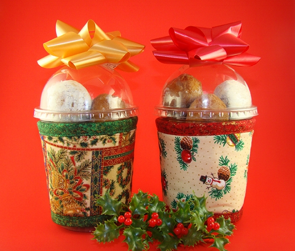 Thinsulate Insulated holiday Kup Kollars from Koffee Kompanions