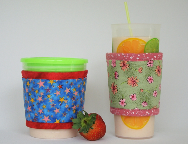 Thinsulate insulated Kream Kollar and Kup Kollar for cold containers.