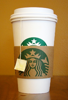 Kollar cardboard wrap 2011 May 24 Starbucks 9713.jpg