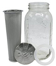 Breanas Mason jar immersion cold brewer