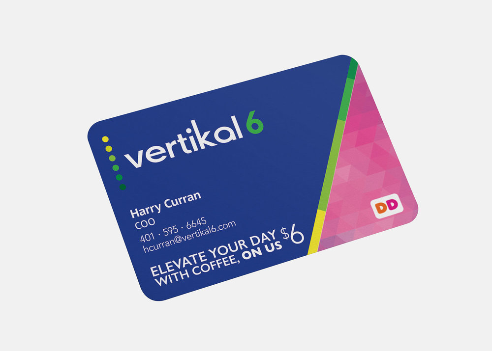Dunkin Donuts Vertikal6 Giftcard