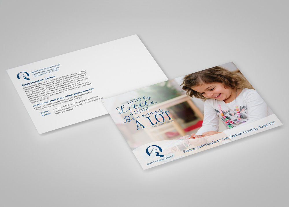 Quest Montessori Postcard