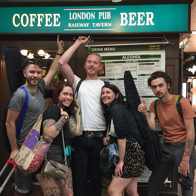 The Tokyo branch of our fav London boozer @therailwaytavern.c.end
