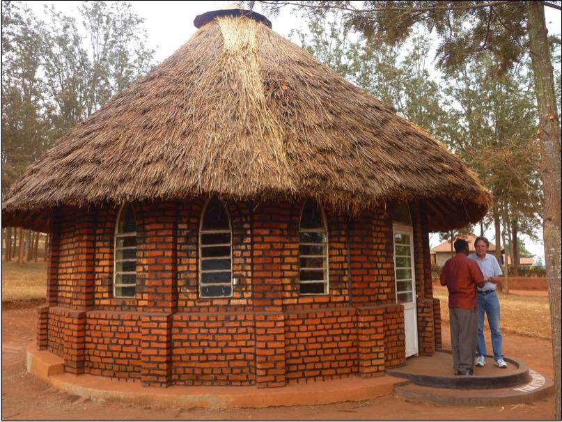 La choza de Blasio Kugosi (hoy, un museo)donde comenzó el avivamiento