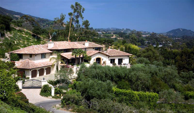 Stunning ocean view estate - Montecito