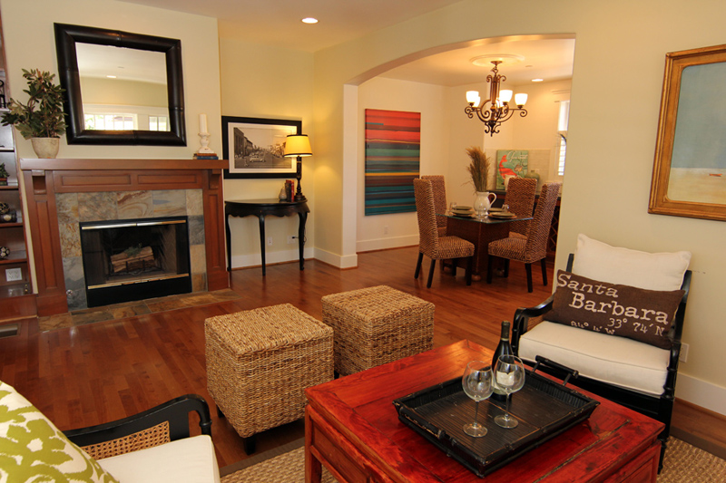 Craftsman-style townhome in Laguna Court Upper East Santa Barbara
