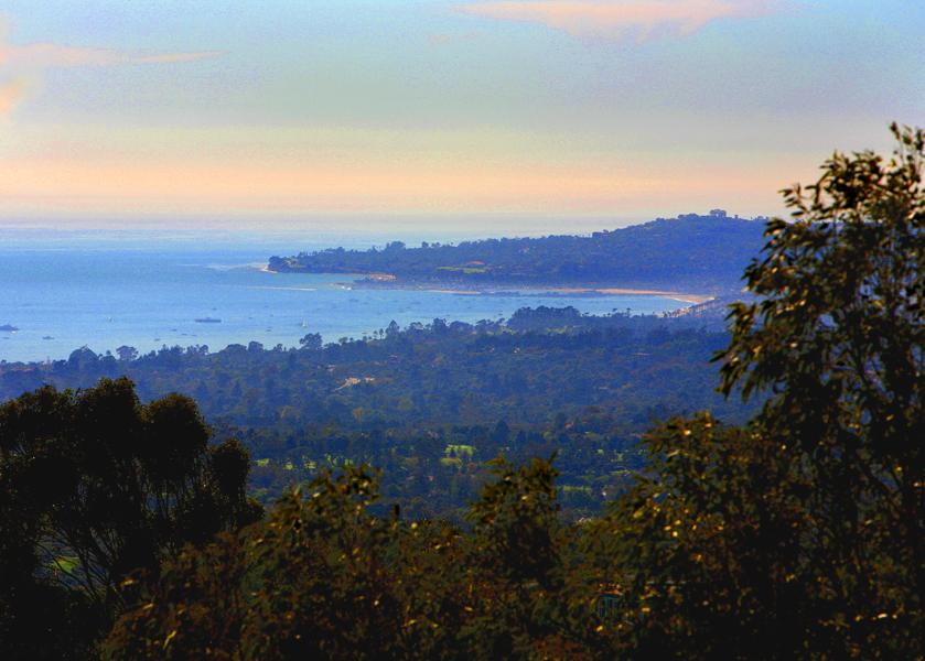 Magical 3.2 acre ridge property - Santa Barbara