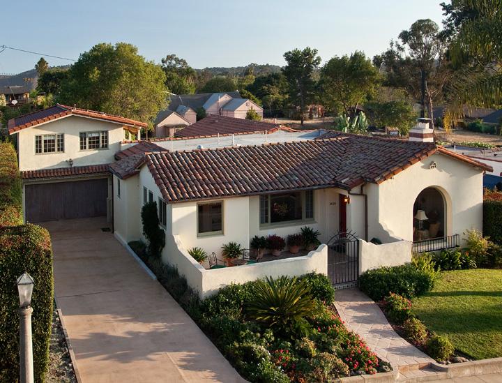 1930's Spanish style bungalow - Santa Barbara