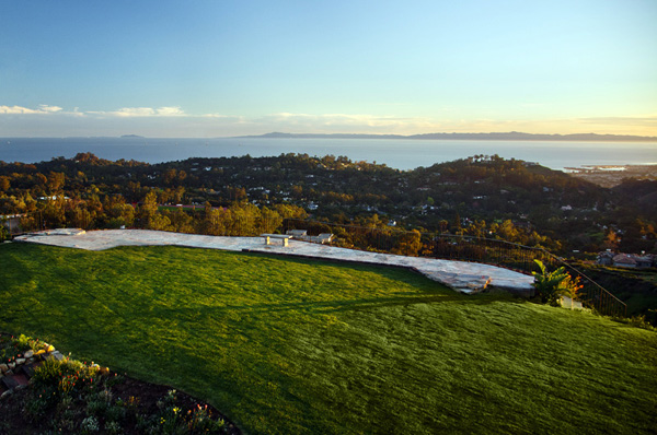 Tea Fire Ocean View Lot - Montecito