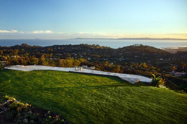 Tea Fire Ocean View Lot - Montecito