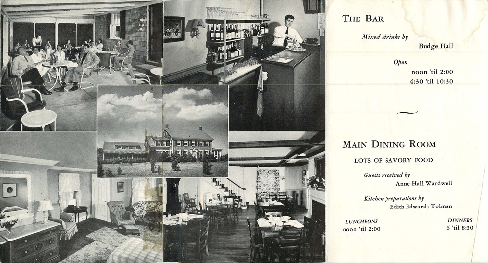 An advertising flyer highlighting the Windswept's amenities.