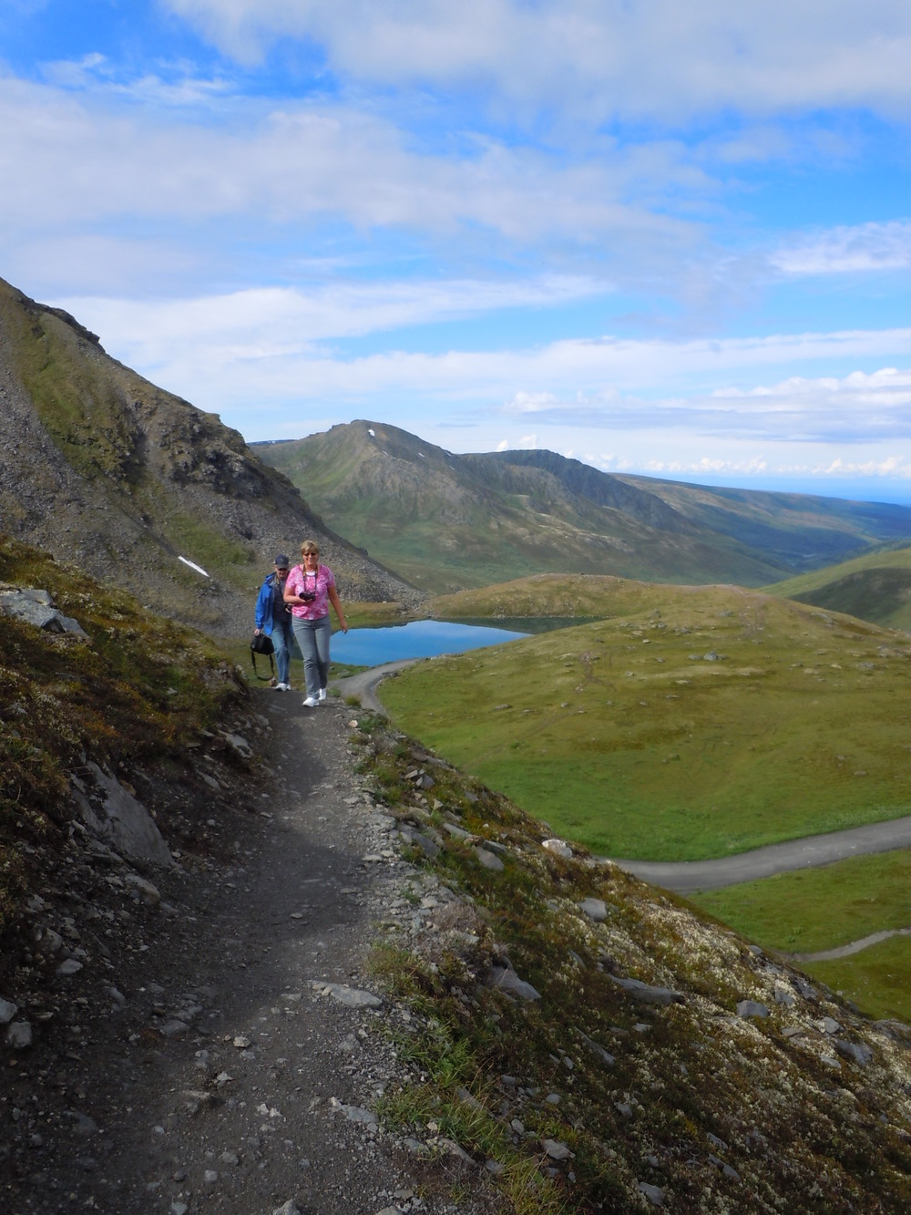 Hatcher Pass hiking adventures.
