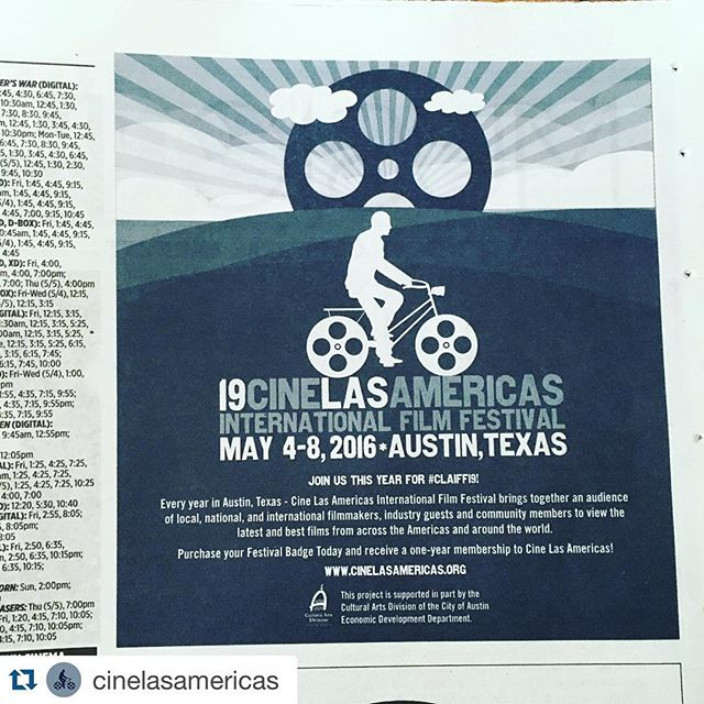 #Repost @cinelasamericas with @repostapp. ・・・ #CLAIFF19 starts this week! Who is ready? // ¡#CLAIFF19 comienza esta semana! Quien están listo? #latina