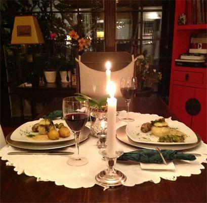 Fancy dinner date