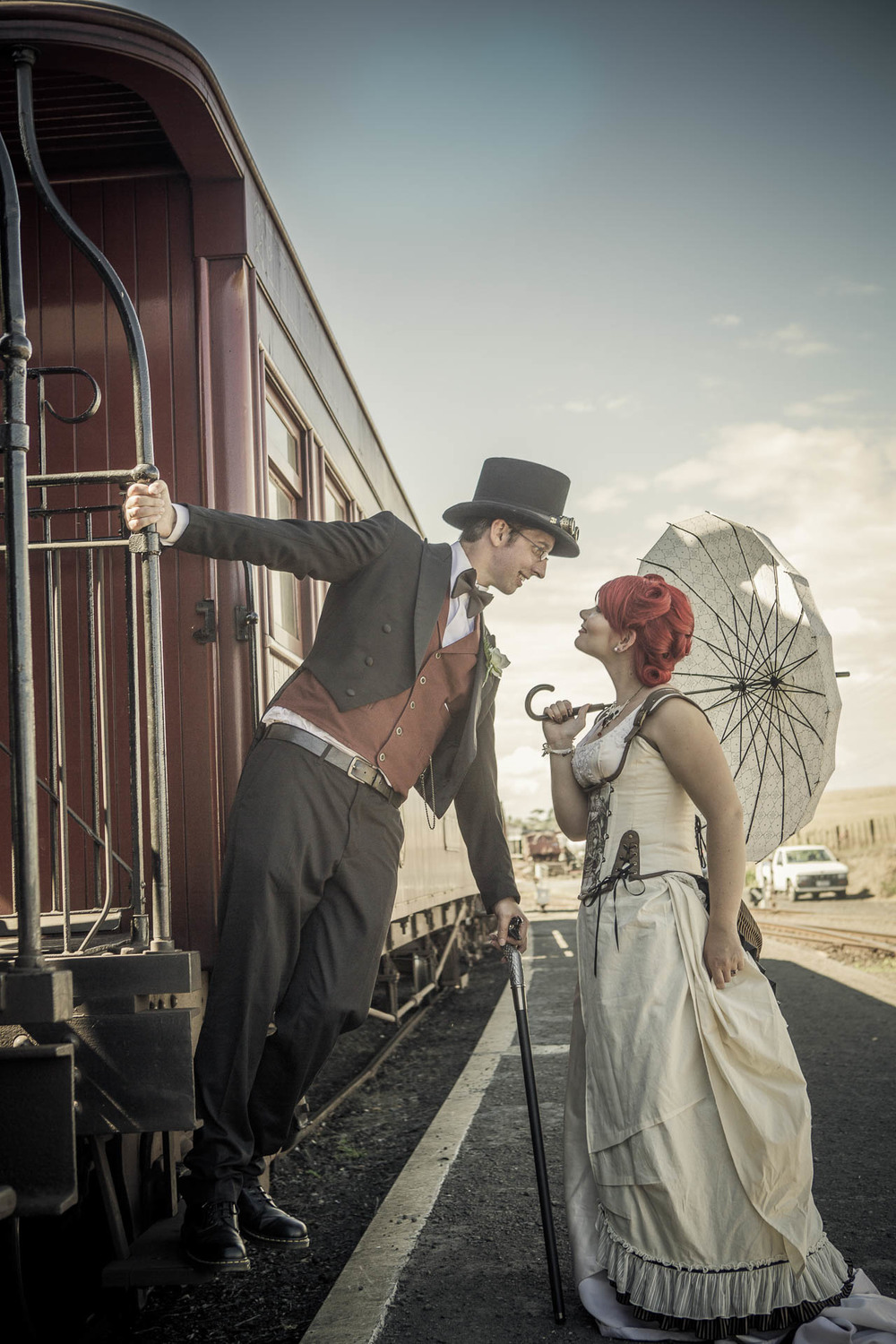 Steampunk Stylised Wedding