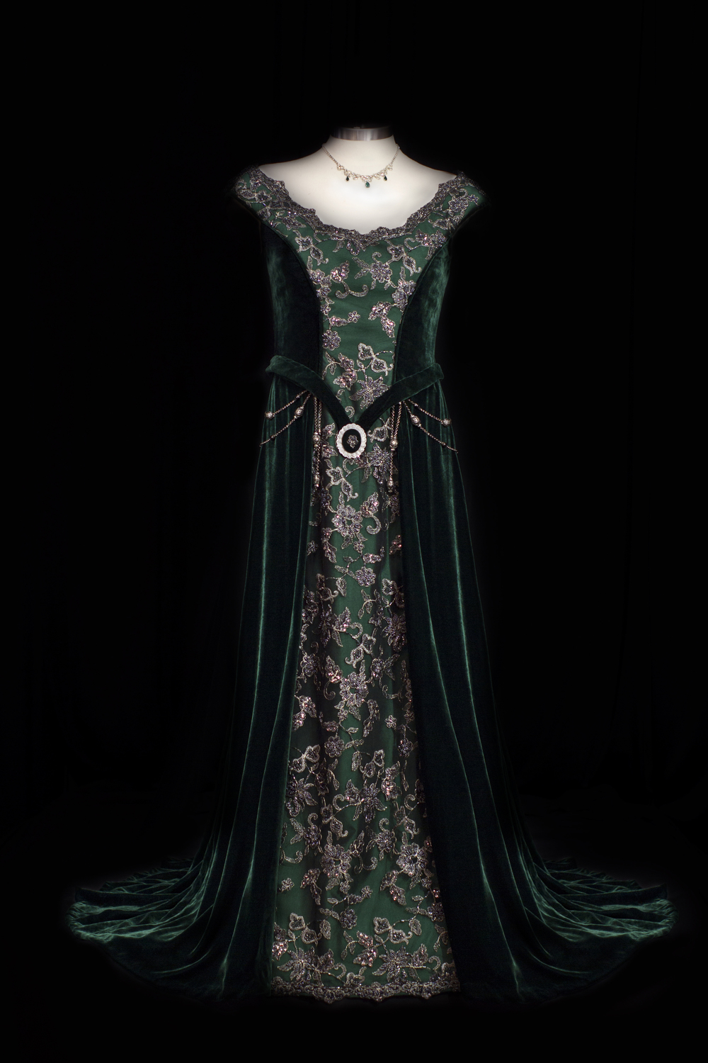 Medieval Stylised Gown